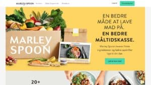 Marley Spoon Måltidskasser